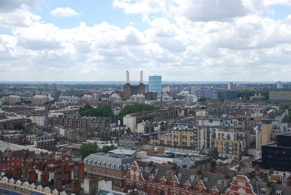 Westminster Cathedral - View From The Tower Of Westminster Cathedral
