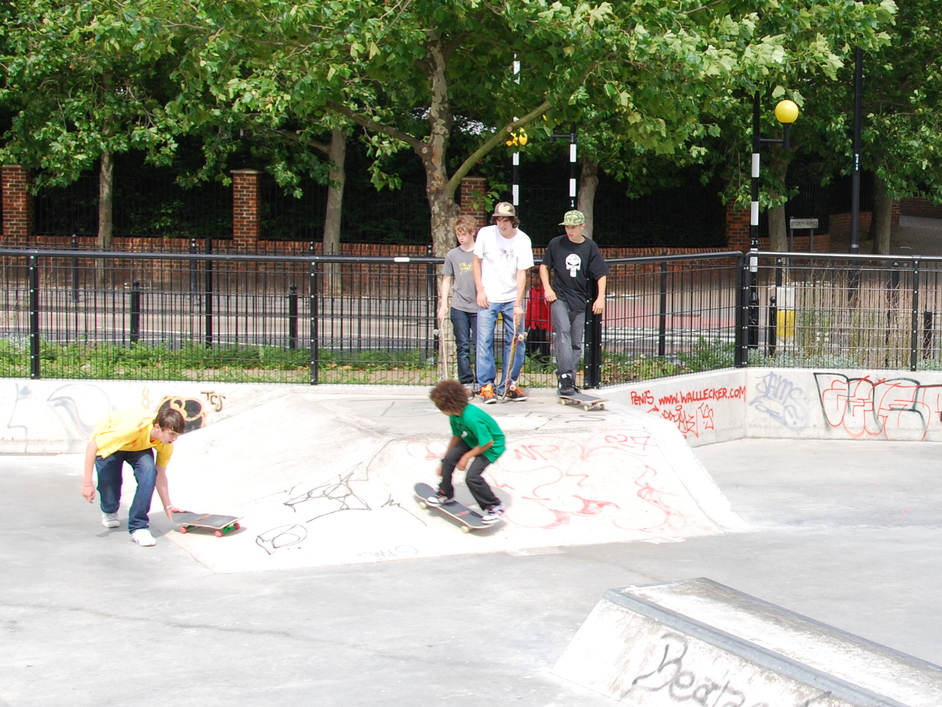 Tower Hamlets - Isle Of Dogs Skate Park