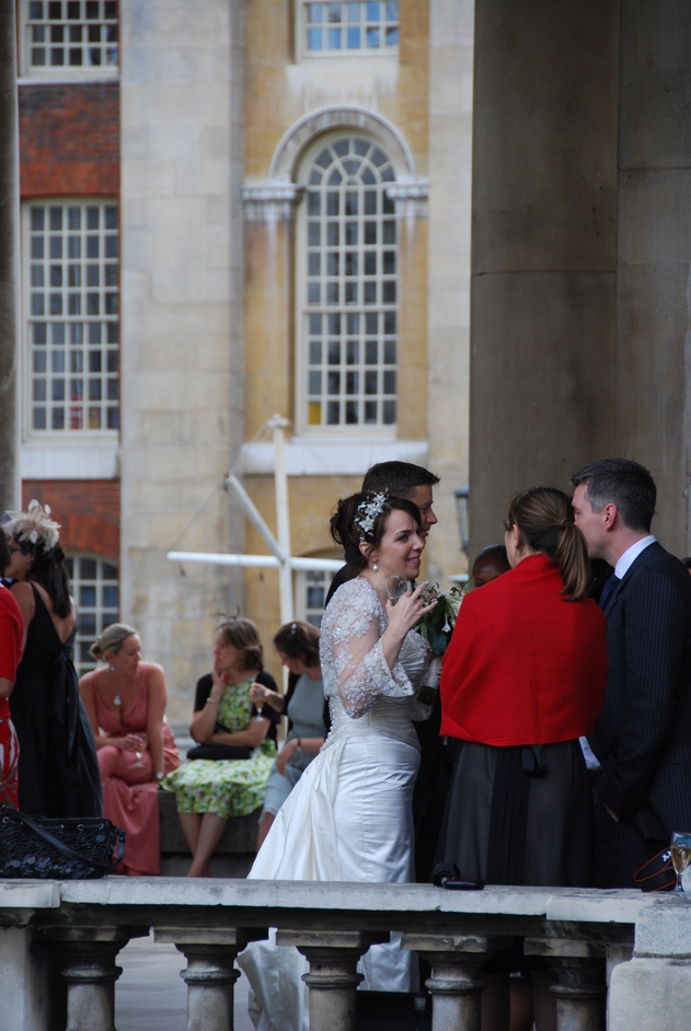 Greenwich - Wedding Party At The Old Royal Naval College
