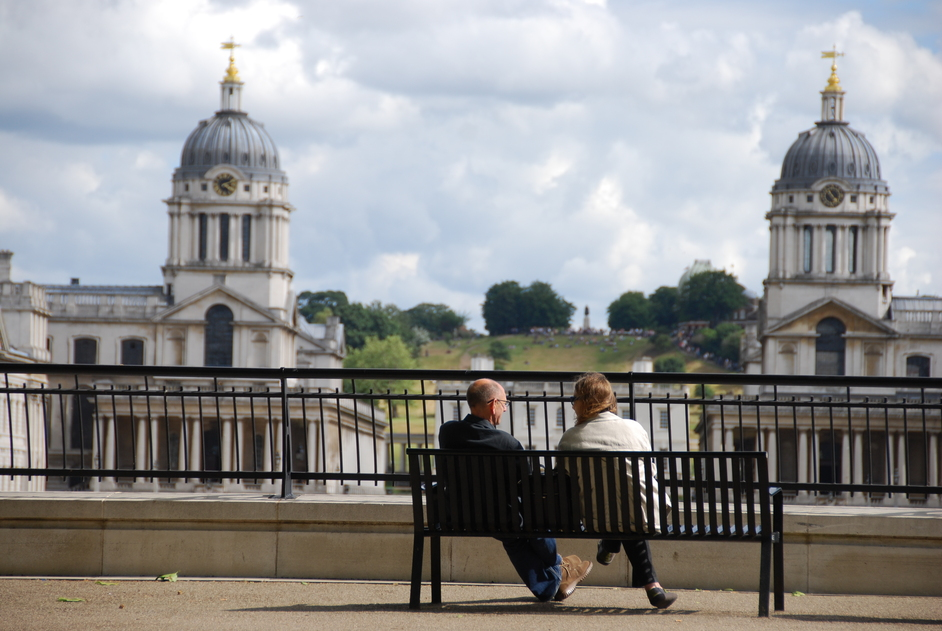 Tower Hamlets - Island Gardens With A View Of Greenwich