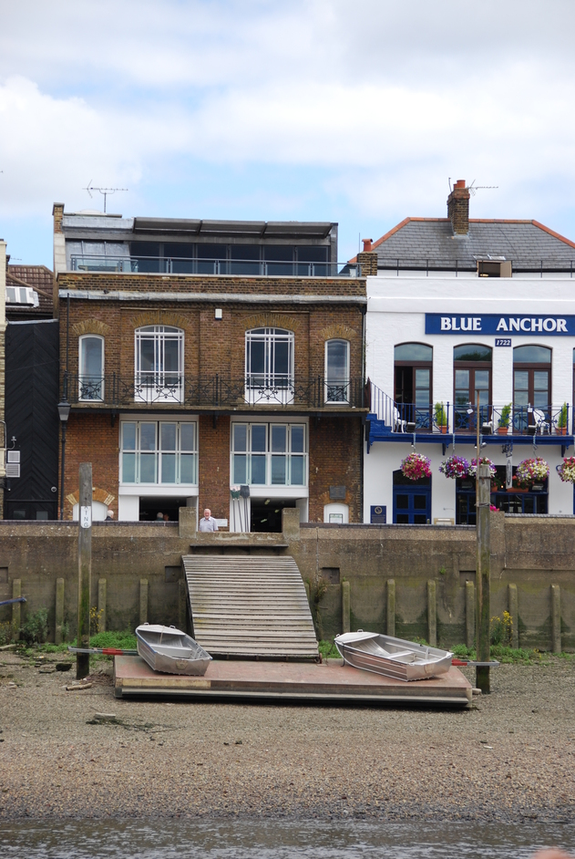 Blue Anchor - Thames View Of The Blue Anchor