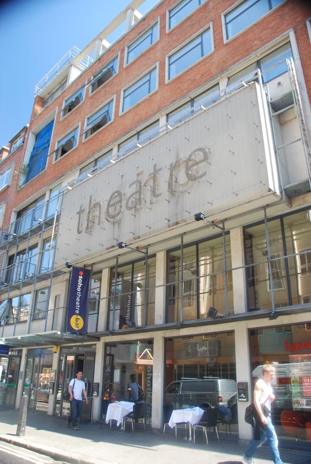 Dean Street - Soho Theatre Exterior