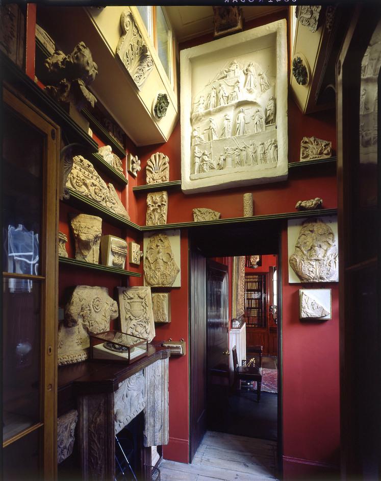 Sir John Soane's Museum - Little Study