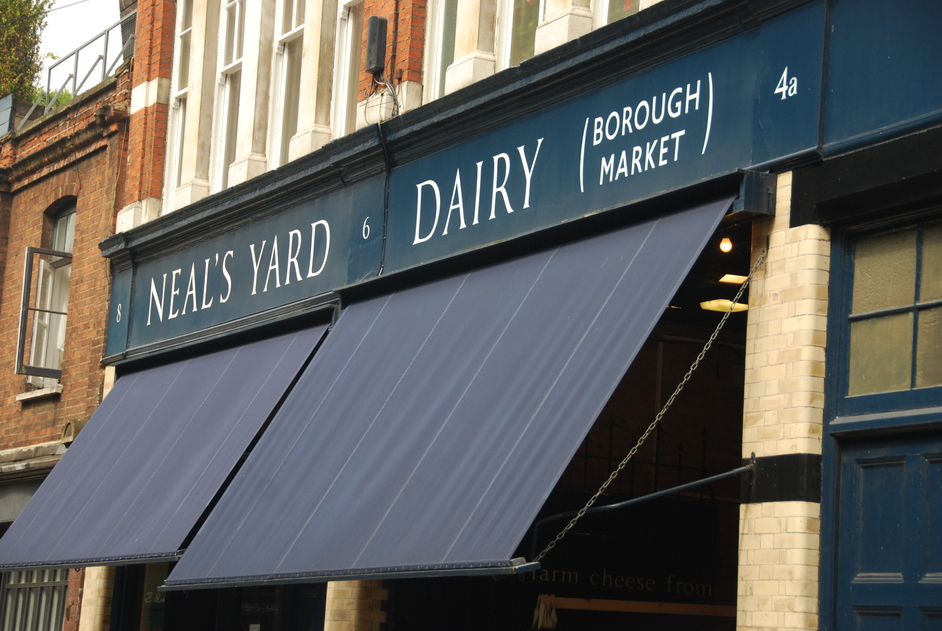 Southwark Street - Neal&amp;#39;s Yard Dairy At Borough Market