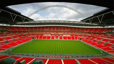 World Cup Qualifier: England v Moldova, Wembley Stadium - Friday 6th September 2013