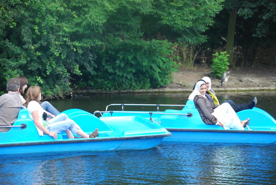 Regent's Park - Regent's Park Boating