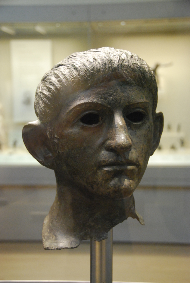 British Museum - Bronze Head Of Roman Emperor Claudias