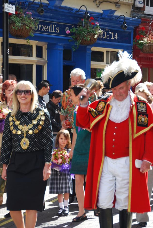 Covent Garden Piazza - Mayor Of Westminster & Town Cryer In Covent Garden
