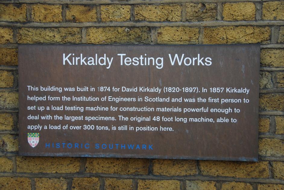 Kirkaldy Testing Museum - Kirkaldy Testing Museum Exterior