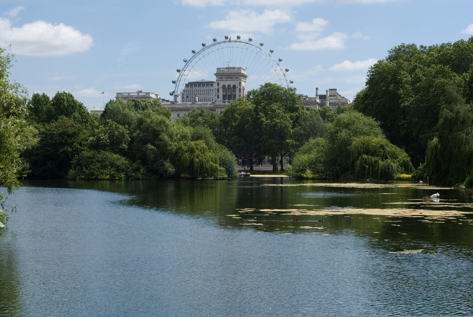 St James's Park - View from the lake - � Anne Marie Briscombe
