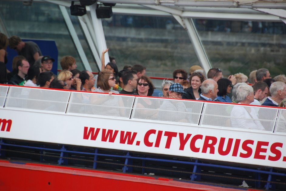 City Cruises Sightseeing Tours - Customers On City Cruises