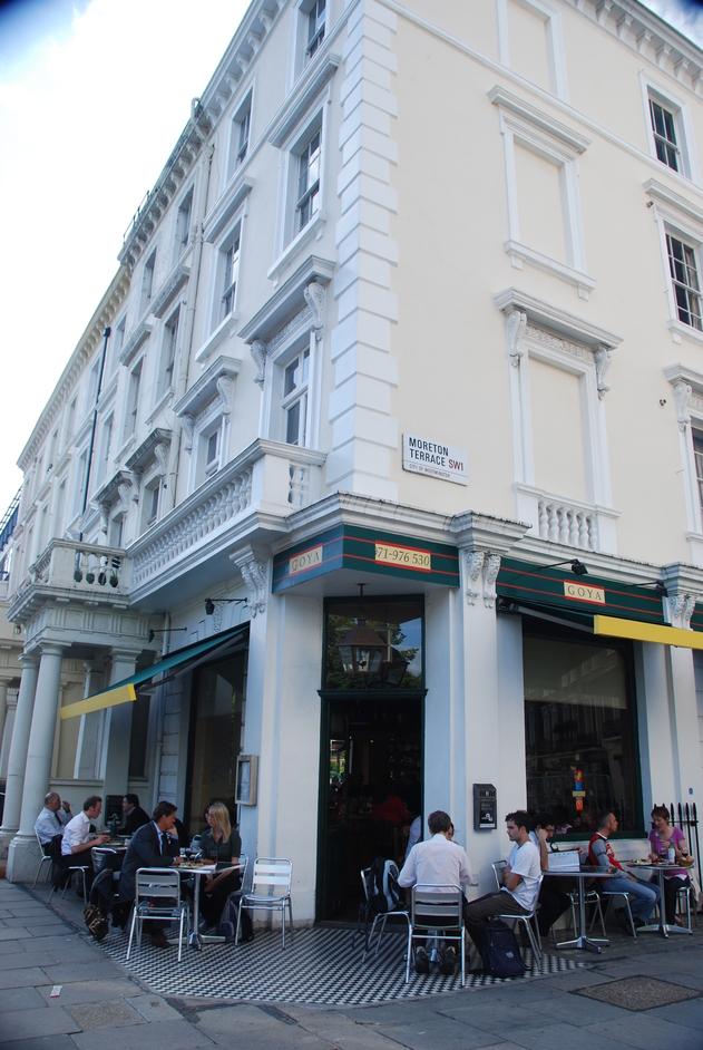 Goya Pimlico - Exterior Of Goya