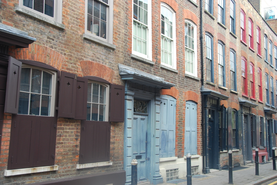Brick Lane - Brick Lane 18th Century Houses
