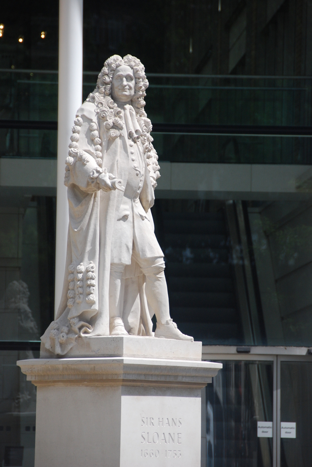 Duke of York Square - Hans Sloane Statue, Duke Of York Square