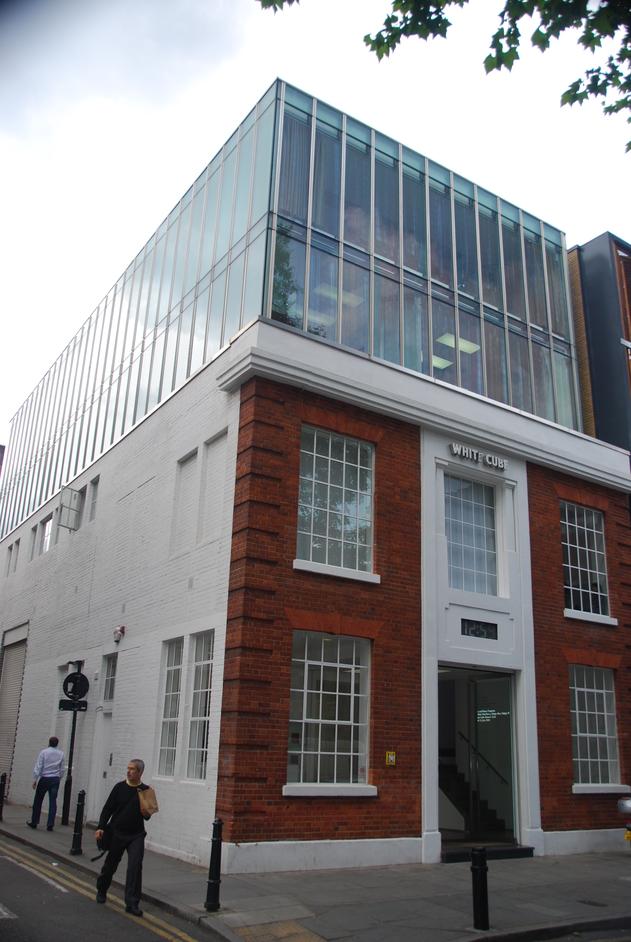 White Cube Hoxton Square - White Cube Exterior