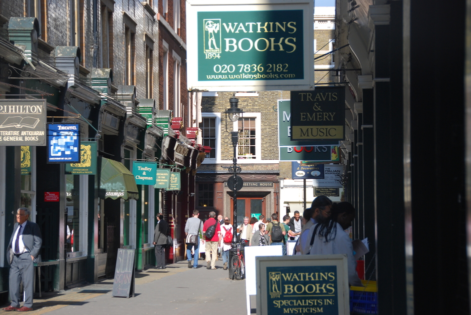 Watkins Books - Watkins Books On Cecil Court