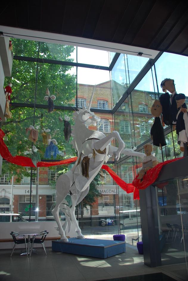 Unicorn Theatre - Reception Area Of The Unicorn Theatre
