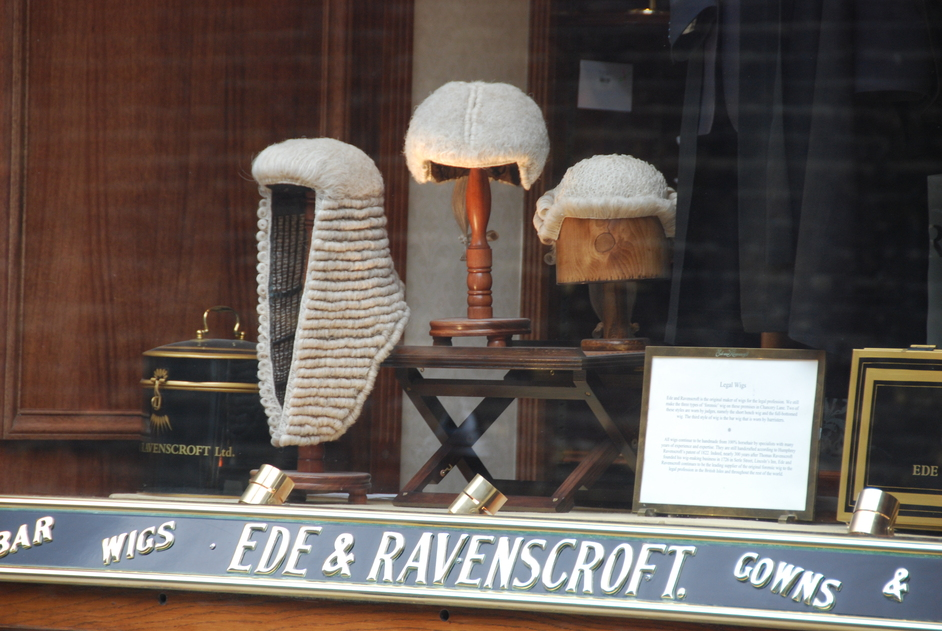 Ede & Ravenscroft - Ede & Ravenscroft Window