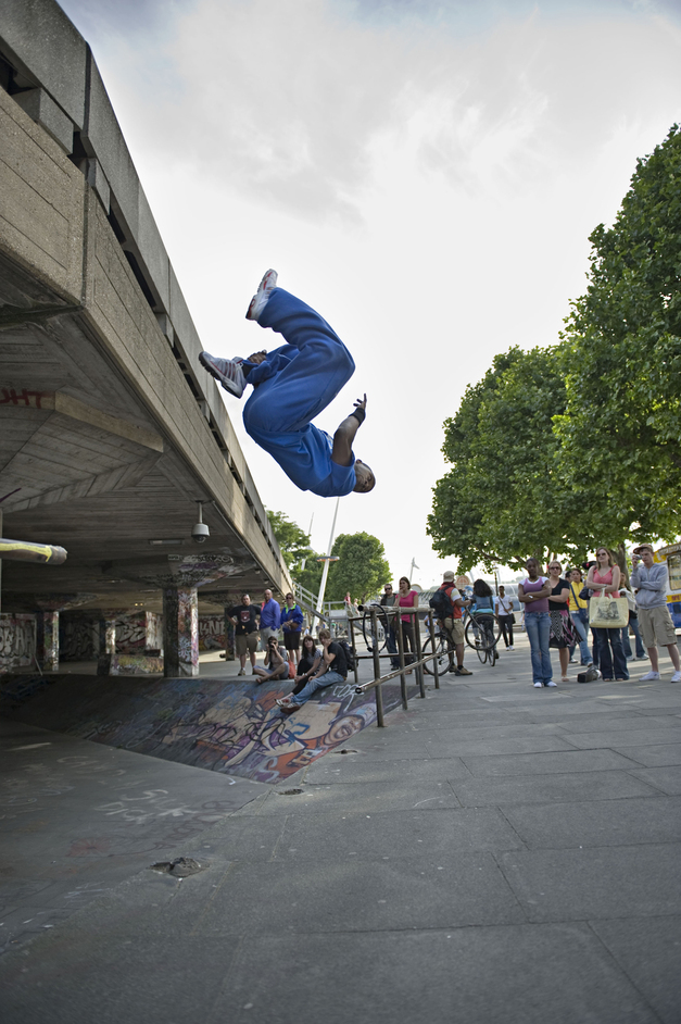 Southbank Centre - World Freerun Championships