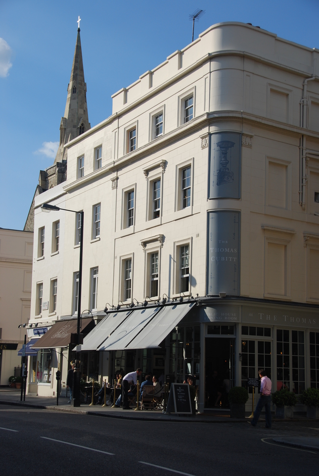 Thomas Cubitt - London : a Michelin Guide restaurant