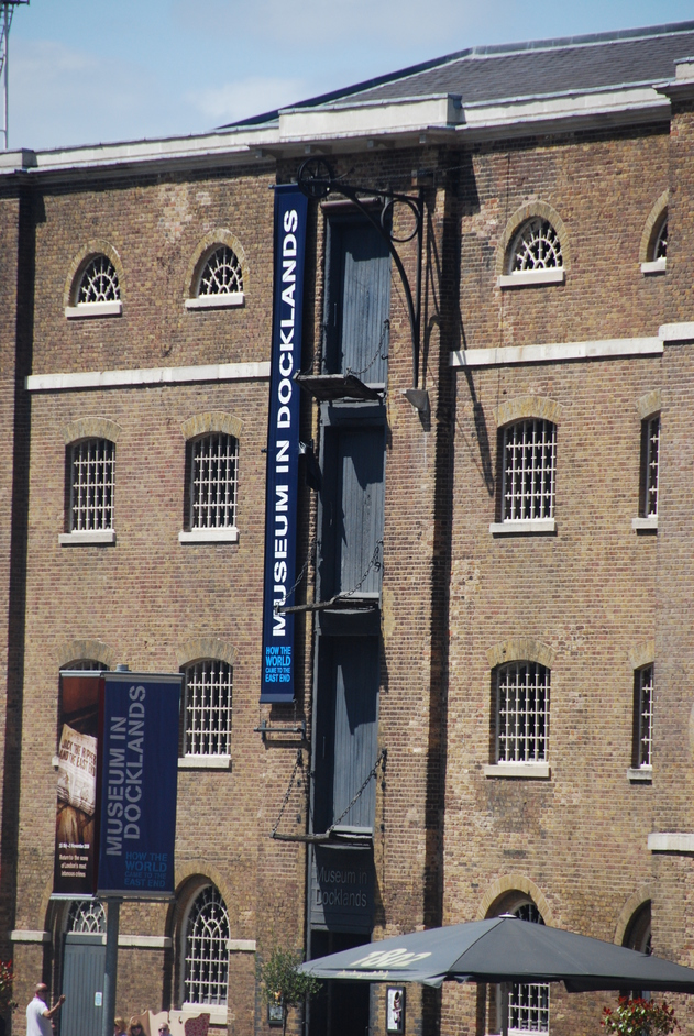 Museum of London Docklands - Docklands Museum Exterior
