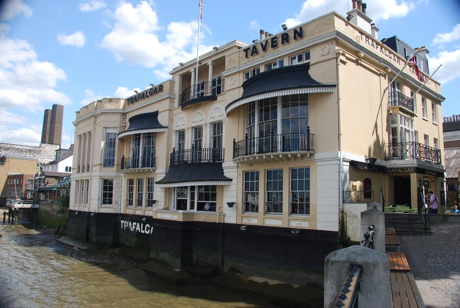 The Trafalgar Tavern - Trafalgar Tavern Exterior