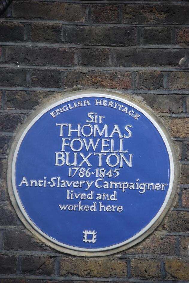 Brick Lane - Brick Lane Buxton Plaque