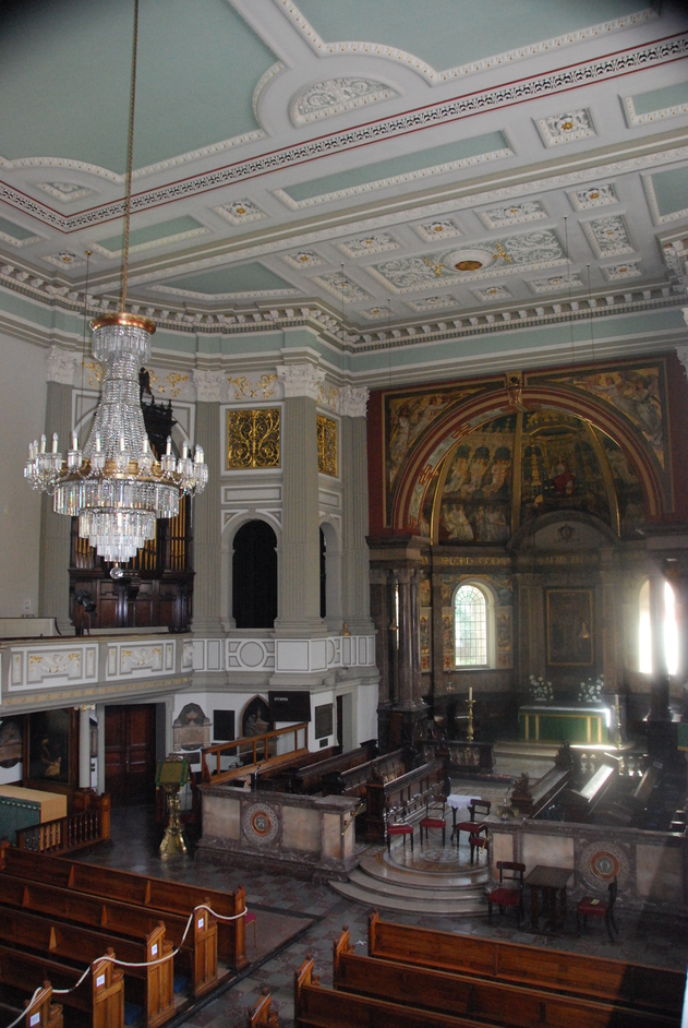 Marylebone High Street - Interior Of St Marylebone Church