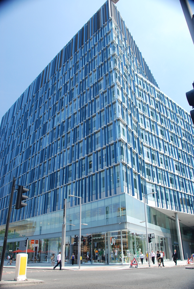 Blue Fin Building - Blue Fin Building Exterior