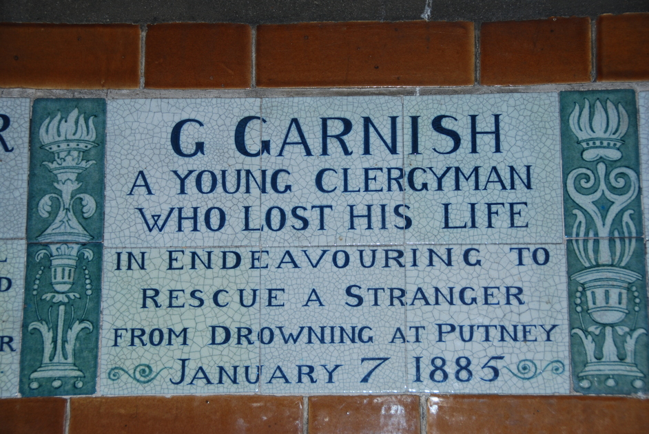 Angel Street - Postman's Park Plaque