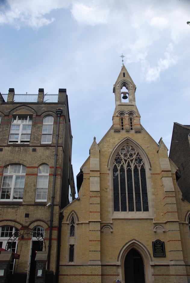 Hackney - St Monica's Church Hoxton Square
