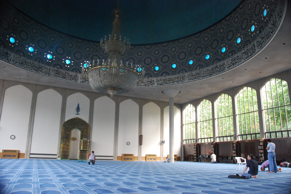 London Central Mosque - London Central Mosque Interior