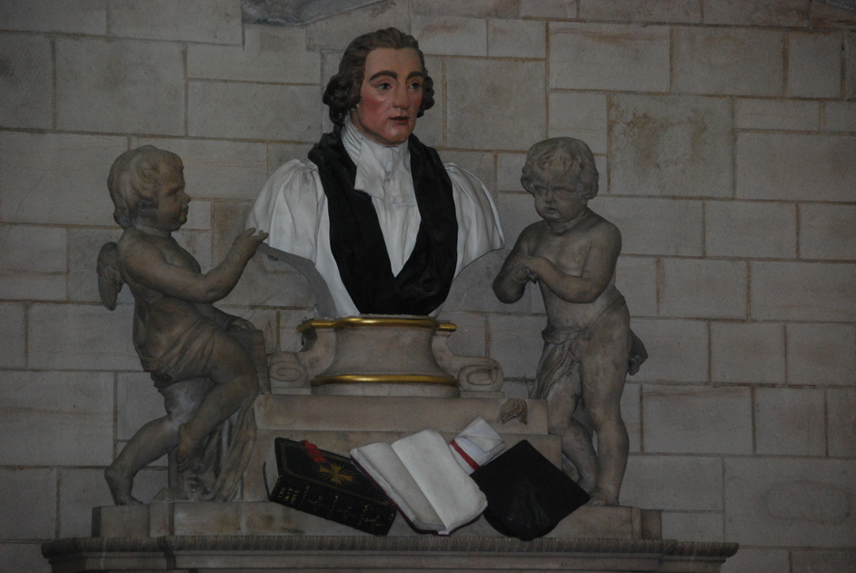 Cathedral Street - Memorial Bust Inside Southwark Cathedral