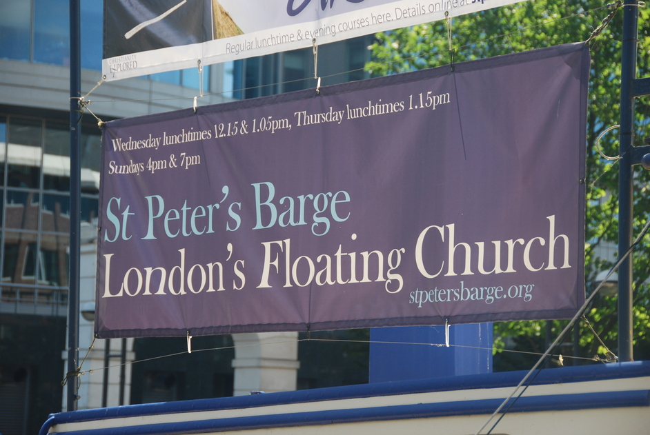 Hertsmere Road - West India Quay St Peter's Floating Barge
