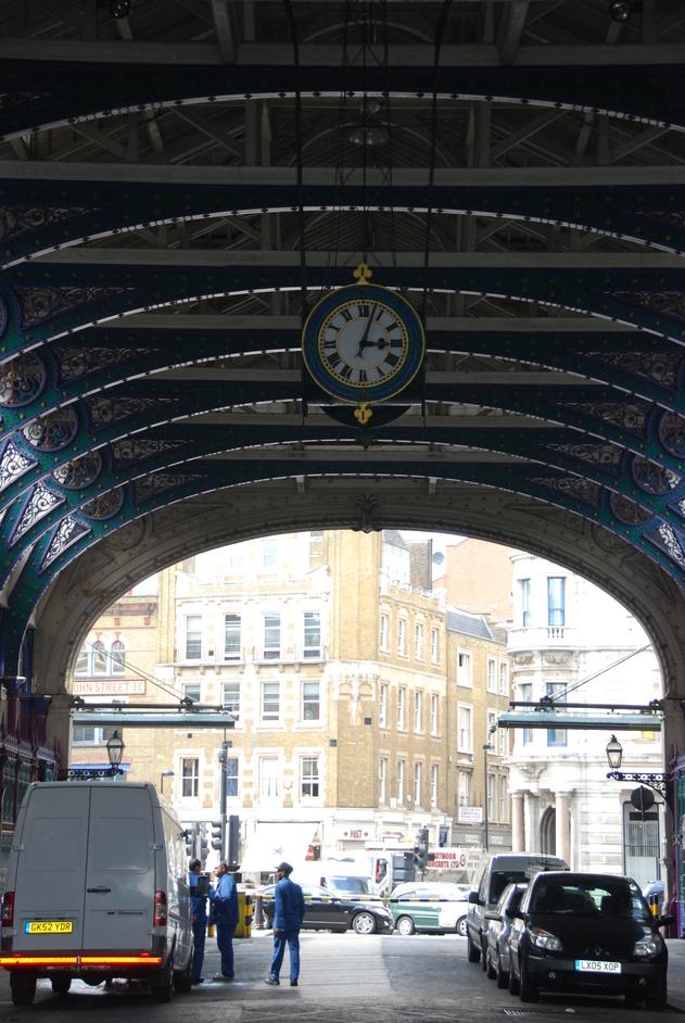 Smithfield Market - Smithfield Market Clock