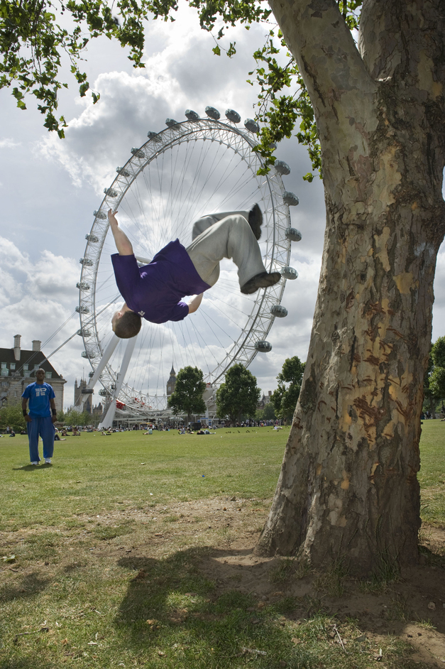 London Eye  - World Freerun Championships
