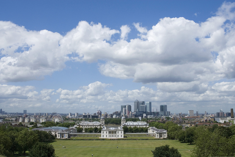 Greenwich Park - View of London - © Anne Marie Briscombe