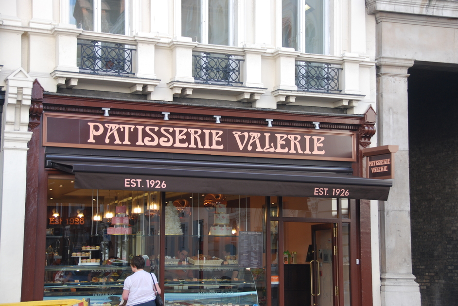 Bedford Street - Patisserie Valerie In Covent Garden