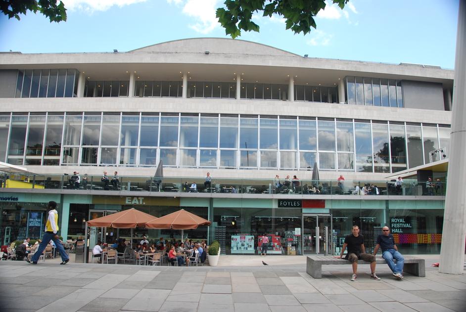 Southbank Centre: Royal Festival Hall - Foyles Exterior