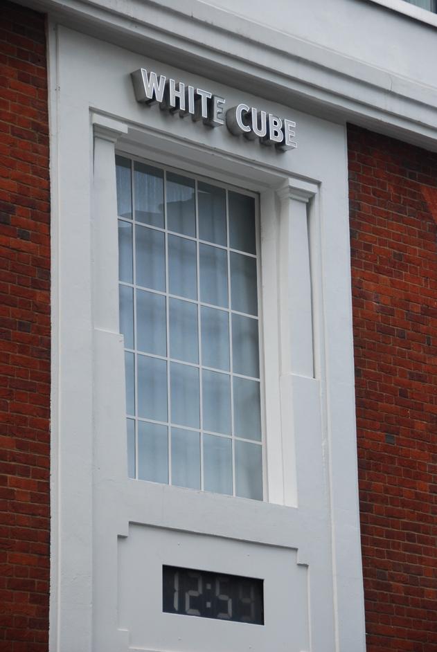 Coronet Street - White Cube Exterior