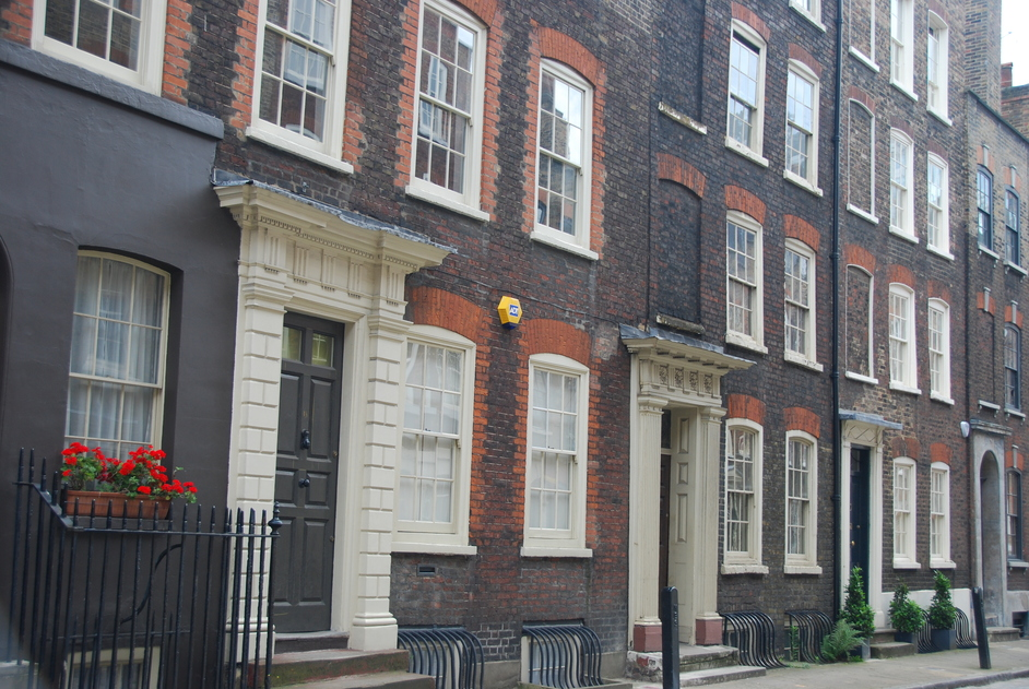 Dennis Severs' House - Surrounding Streets Of Dennis Sever's House