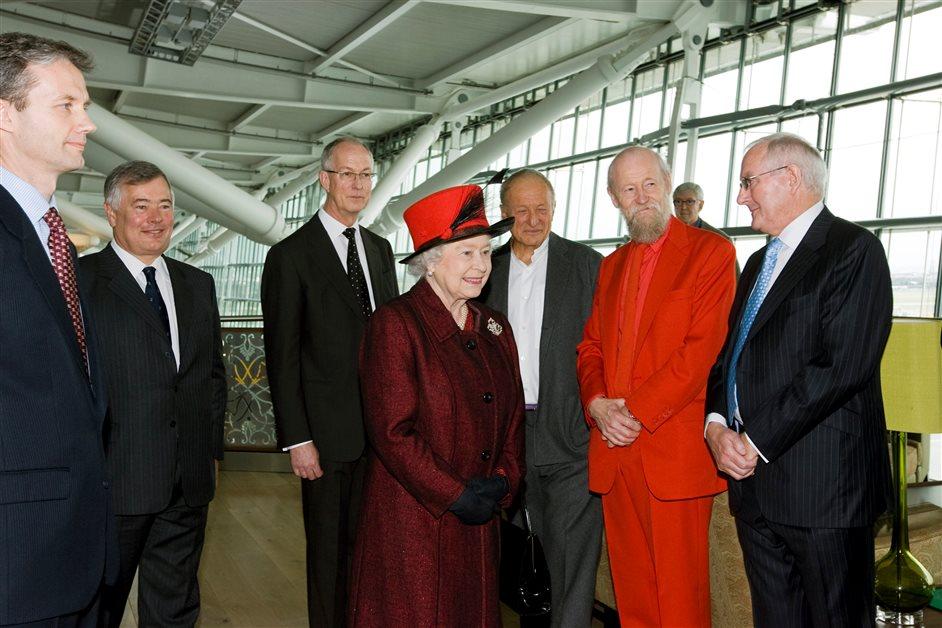 Heathrow Airport - The Queen opening Terminal 5