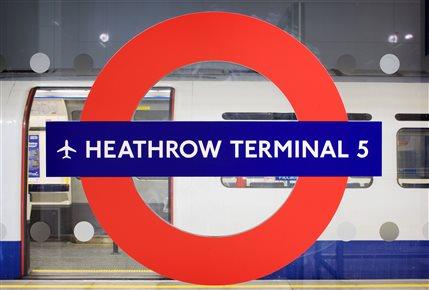 Heathrow Terminal 5 Tube Station
