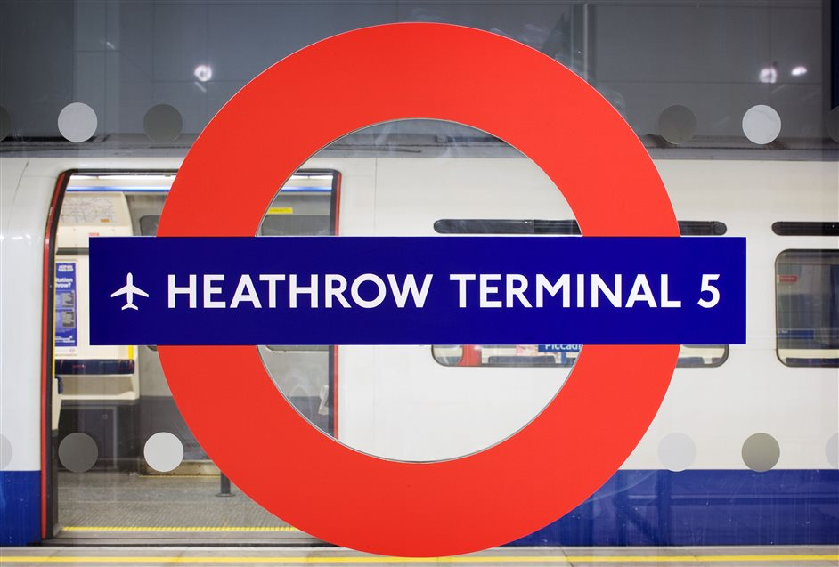 Heathrow Terminal 5 Tube Station