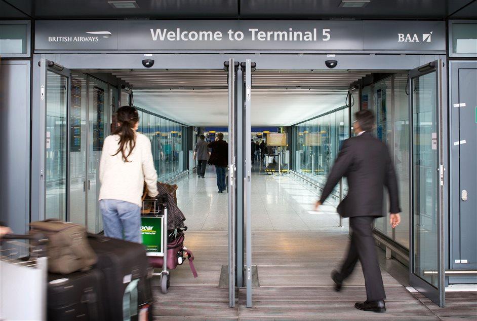 Heathrow Airport - Terminal 5 entrance
