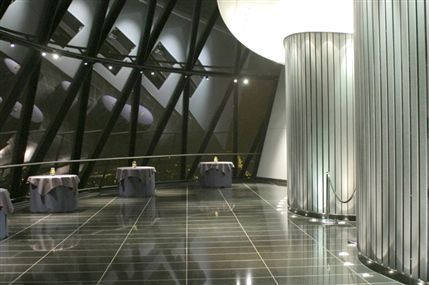 Top Floor Restaurant at The Gherkin