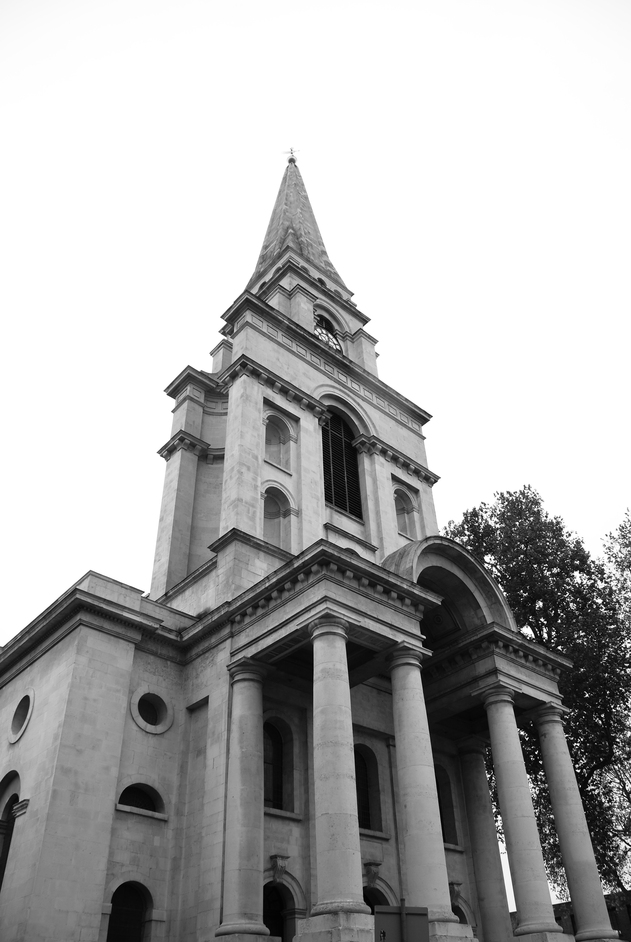 Christ Church Spitalfields - Christ Church Exterior
