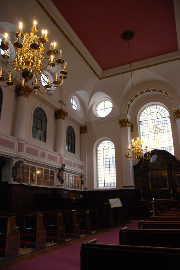 St Mary At Hill - St Margaret Pattens Interior