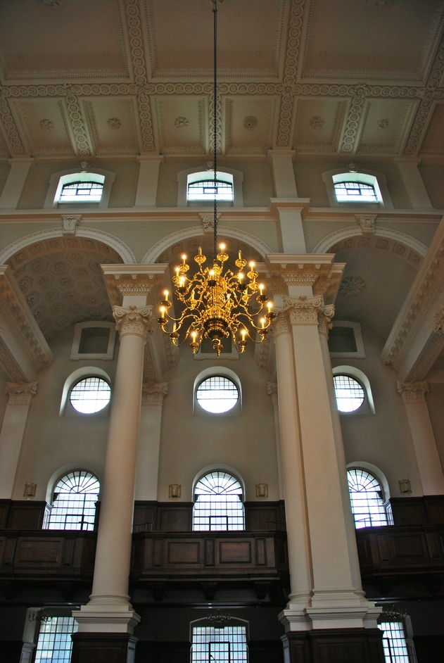 Fournier Street - Christ Church Spitalfields Interior