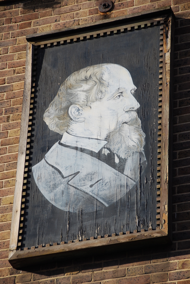Charles Dickens Museum - Portrait Of Charles Dickens